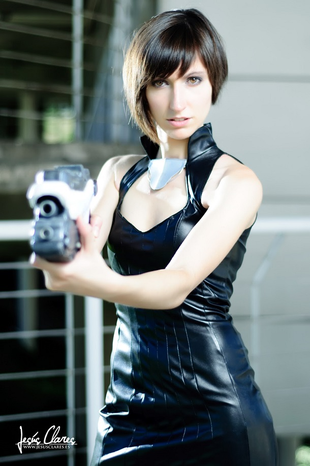 Cosplay Shepard Commander femenino