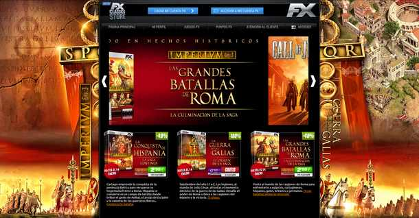 Portada de la FX Classics Store