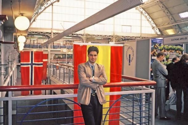Pablo Ruiz en 1989