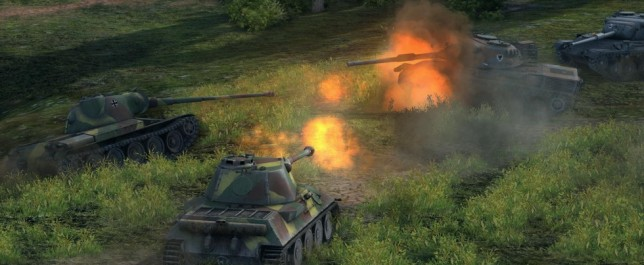 World of Tanks actualización 8.5