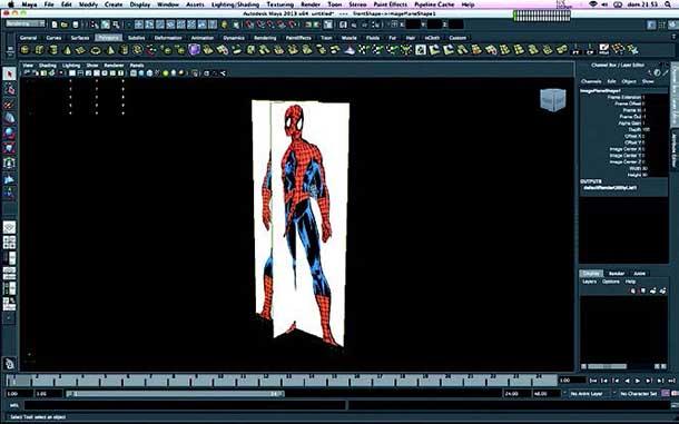 modelado spider-man
