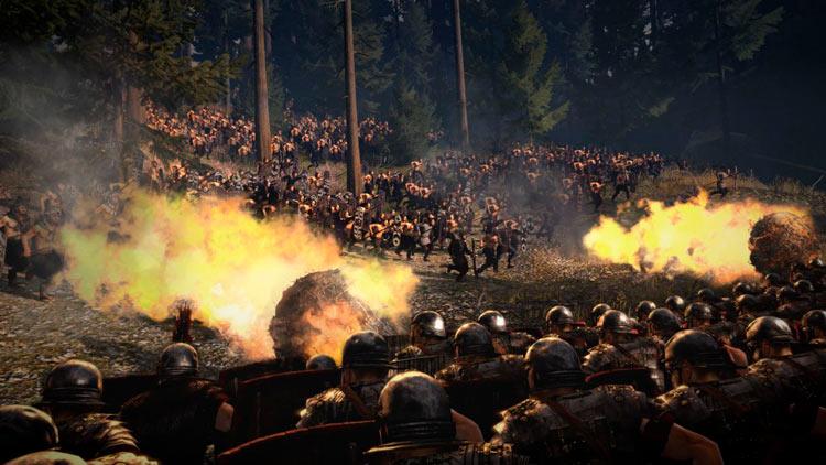 Total War Rome II Teutoburg
