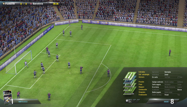 Primer parche para FX Fútbol 1.1