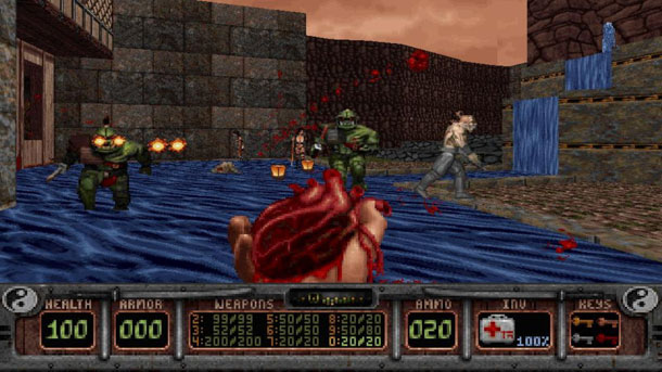 "Shadow Warrior y sus ""armas"""