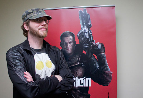 Jens Matthies, director creativo de MachineGames y Wolfenstein The New Order