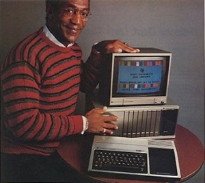 Bill Cosby Texas Instruments