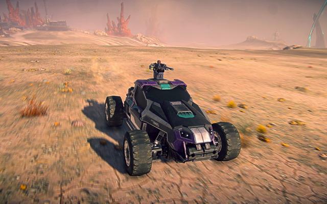 PlanetSide 2 presenta el Harasser.