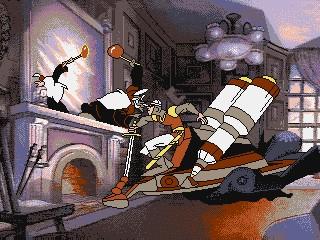 Dragon's Lair III: The Curse of Mordread - Amiga