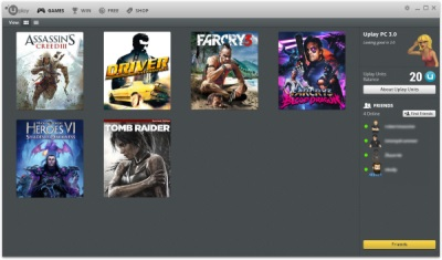 Uplay 3.0 Ubisoft