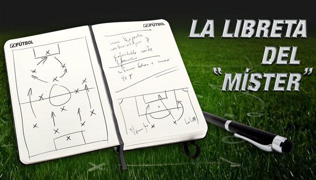 La libreta del Míster en FX Fútbol.