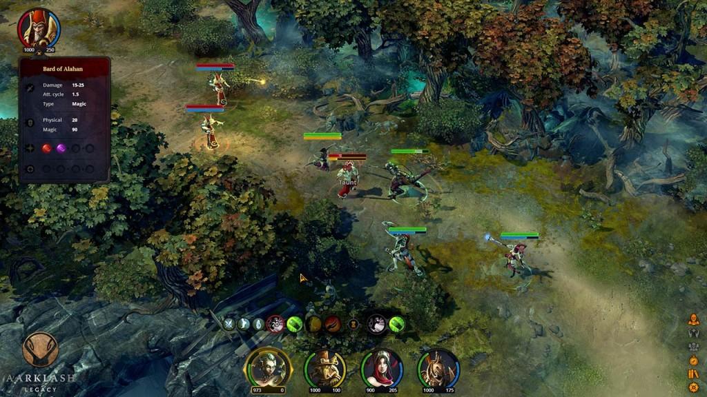 Aarklash Legacy en PC se inspira en el mundo 'rolero' de Confrontation.