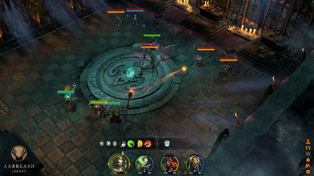 Combates tácticos en el universo COnfrontation gracias a Aarklash Legacy.