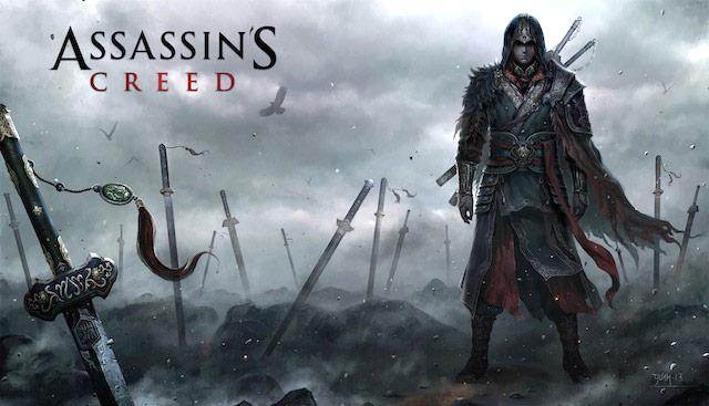 Assassin's Creed saga de Ubisoft.