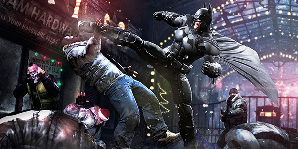 Batman Arkham Origins para PC, primer 'gameplay'.