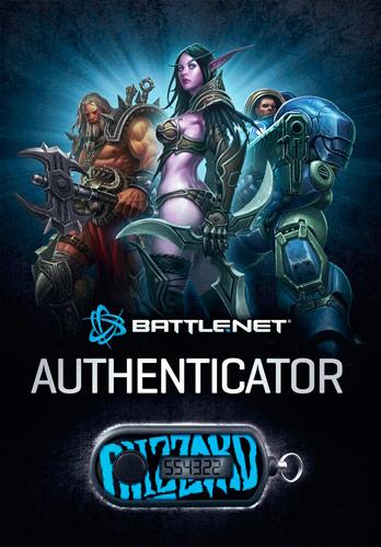 Authenticator de Blizzard para sus cuentas de Battle.net.