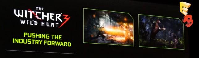 Demo tecnológica de Nvidia sobre The Witcher 3.