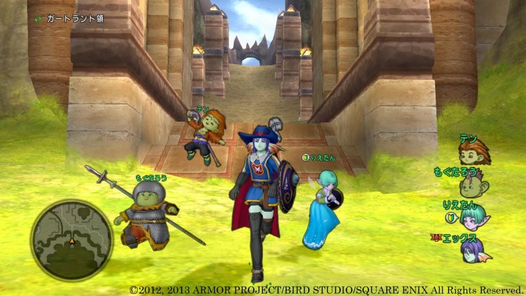Dragon Quest X es un RPG muy 'japo' que no llega a la categoría de MMO.