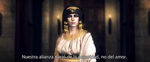 Total War Rome 2 muestra a Cleopatra.