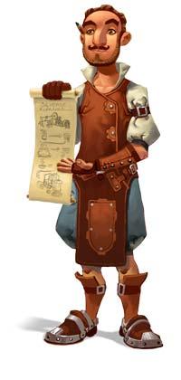 settlers online personaje
