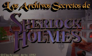 Los Archivos Secretos de Sherlock Holmes - Mythos Software