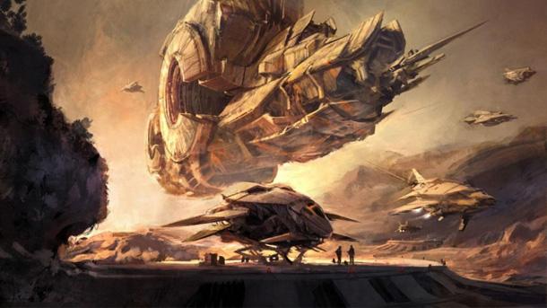 Supuesto artwork del proyecto Titan