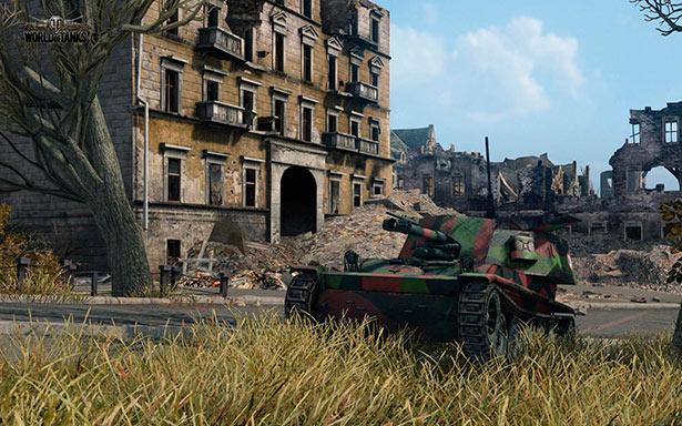 Nuevo tanque francés AMX 105 AM mle. 47 de la actualización 8.6 de World of Tanks.