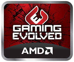 AMD GAMING EVOLVED SELLO