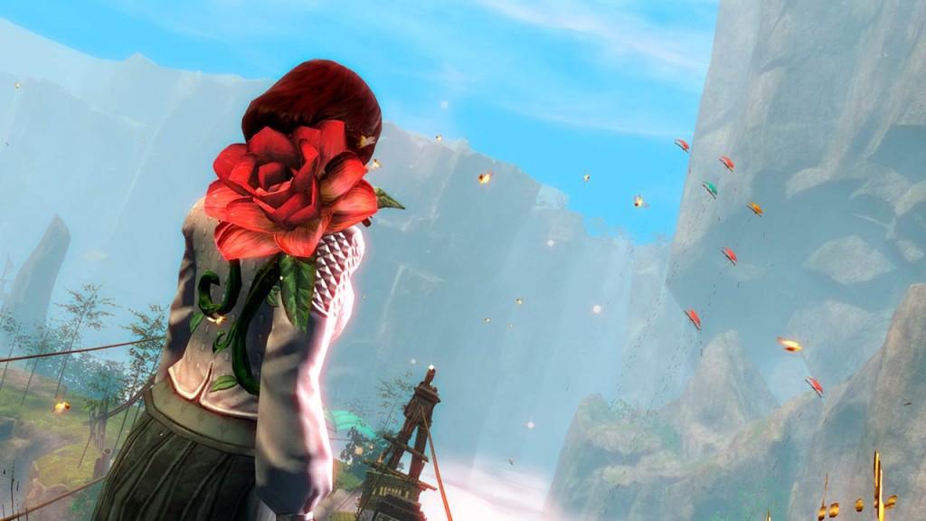 Guold Wars 2 el desierto Rosa.