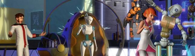 Los Sims 3 Hacia el Futuro y De Cine