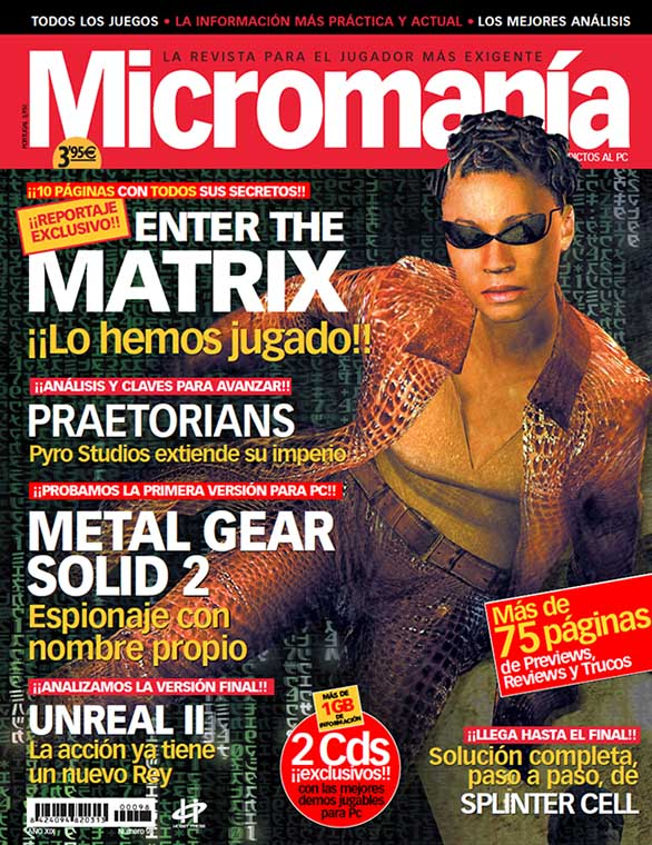 PORTADA MM98 EPOCA 3 MARZO 2003