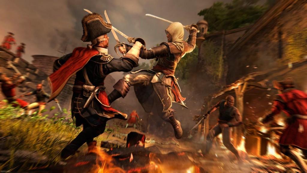Assassin's Creed IV materiales de la ComicCon 2013.