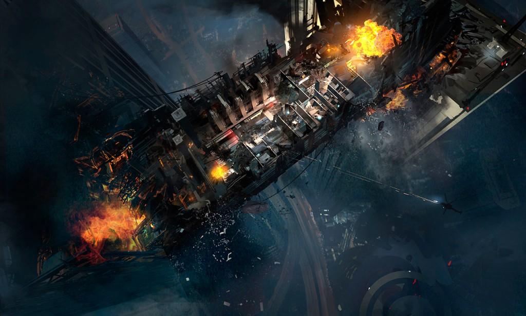Mapa 'free fall' por reservar Call of Duty Ghosts.