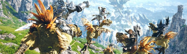 Final Fantasy XiV A Realm Reborn.