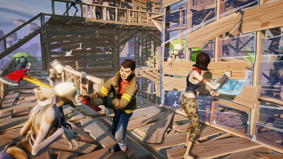 Fortnite es uno de los juegos en los que está trabajando Epic.