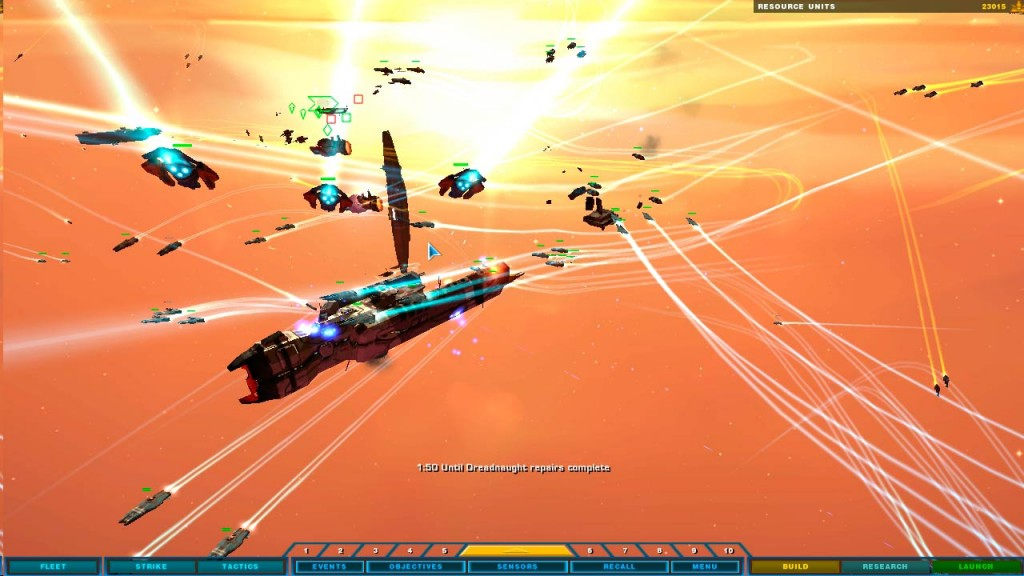 Homeworld es el primer juego de estrategia tridimensional de la historia.