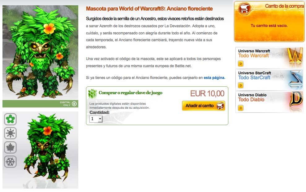 ¿Micropagos en World of Warcraft? No, con estos precios...