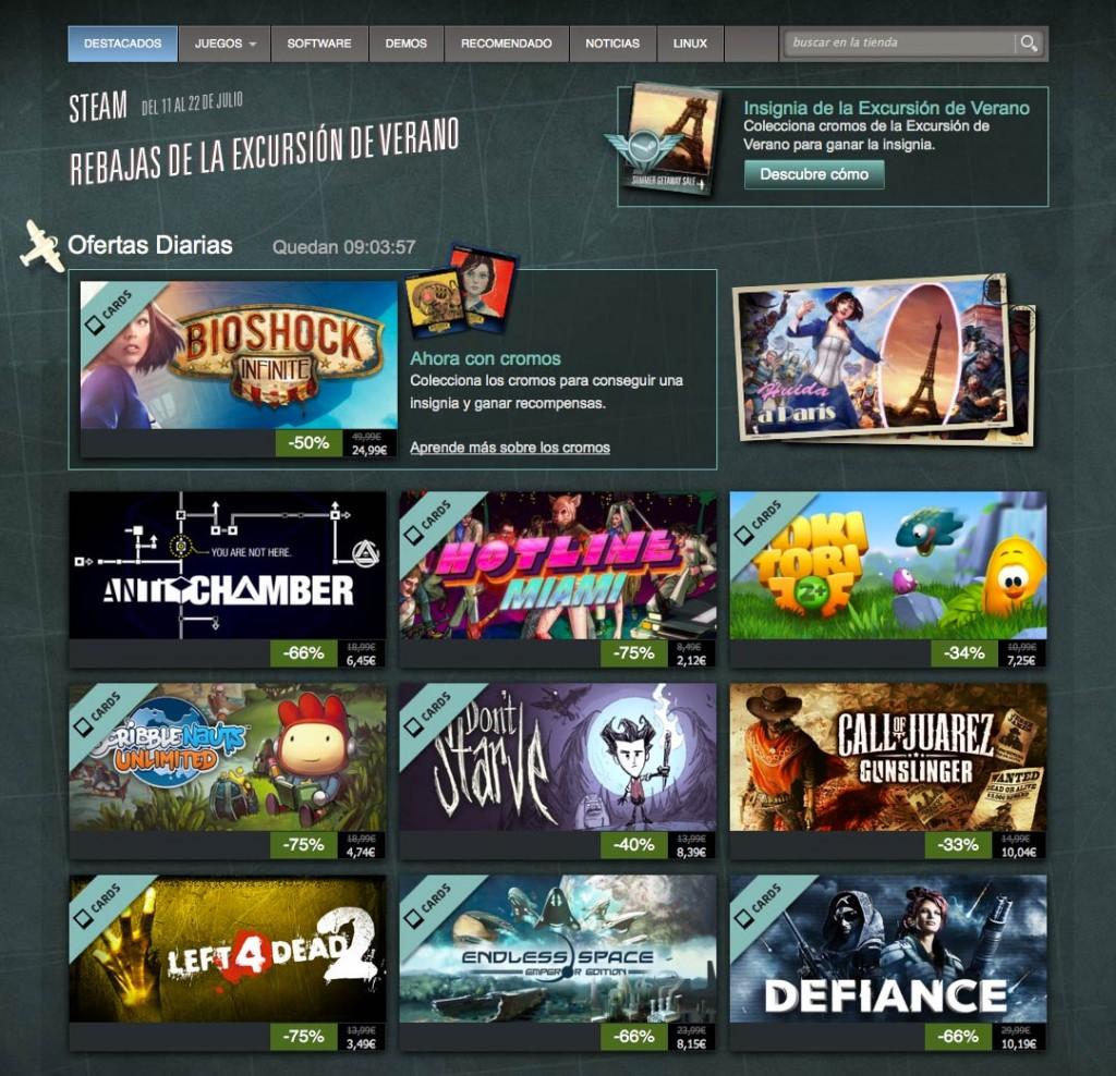 Más ofertas de verano en Steam.