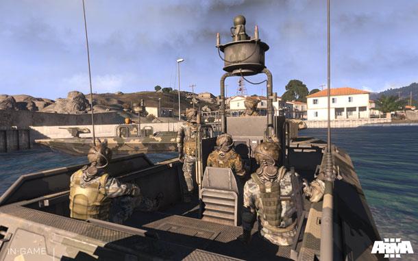ArmA 3, campaña en 3 DLC