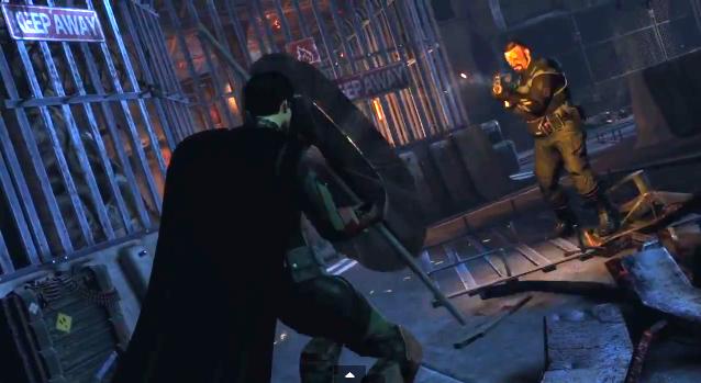 Gracias al multijugador hemos podido ver a Robin en Batman Arkham Origins.