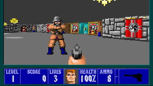 Videojuegos polémicos - Wolfenstein 3D