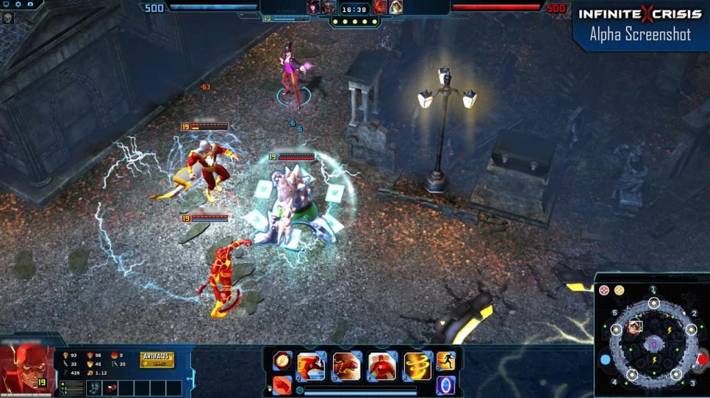 Infinite Crisis, un MOBA de Turnibe basado en el universo de superhéroes de la DC.