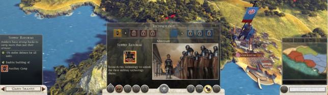Rome 2 tecnología