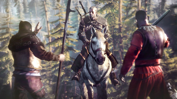 The Witcher 3 Entrevista