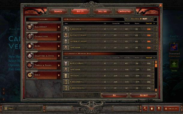 Diablo 3 cierra la Casa de Subastas