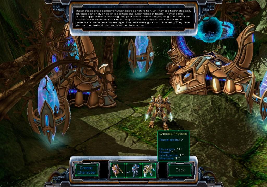 StarCraft Universe, un MMORPG que NO es de Blizzard.