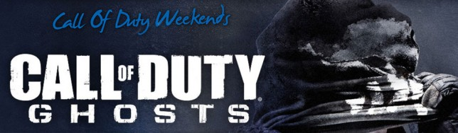 Call of Duty Ghosts Weekends
