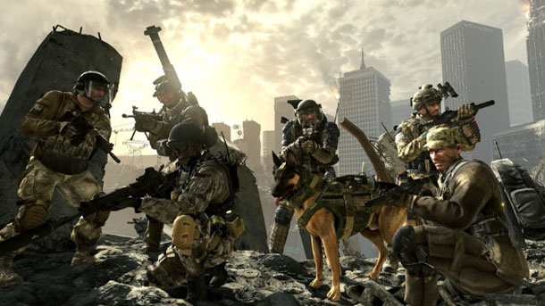 Call of Duty Ghosts pelotones