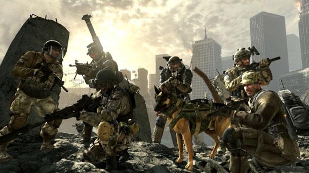 Call of Duty Ghosts pelotones