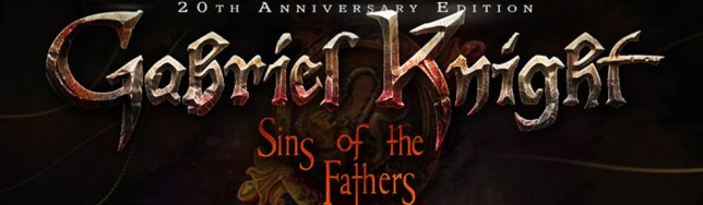 Gabriel Knight Sins of the Fathers 20 aniversario