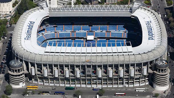Microsoft negocia poner su nombre al Bernabéu